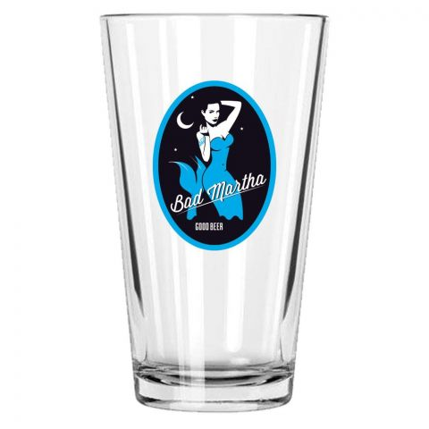 Bad Martha Pint Glass