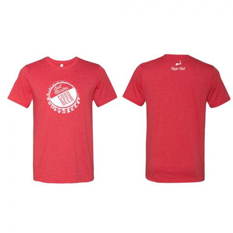 Bottle Cap T-Shirt - Red - Cape Cod