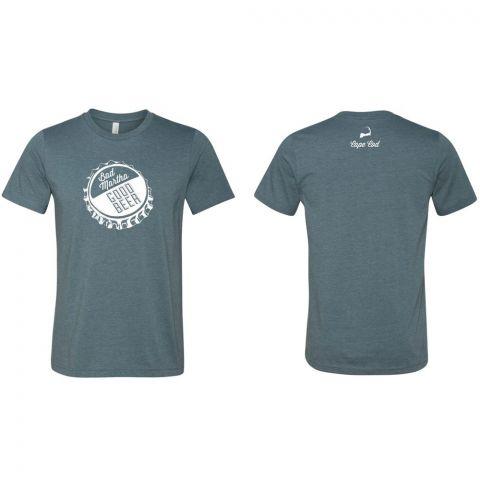 Bottle Cap T-Shirt - Slate - Cape Cod