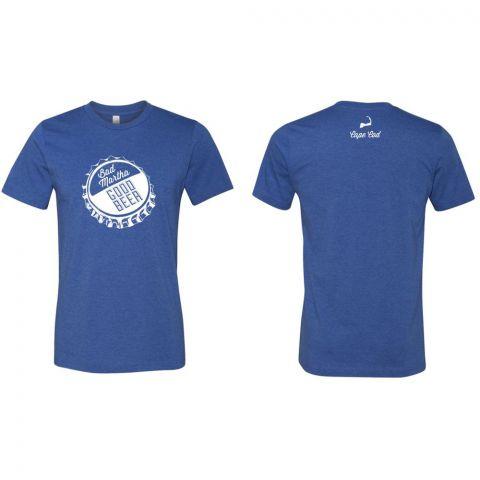 Bottle Cap T-Shirt - Blue - Cape Cod