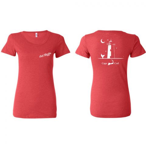 Women's Lighthouse Triblend Tee - Cape Cod
