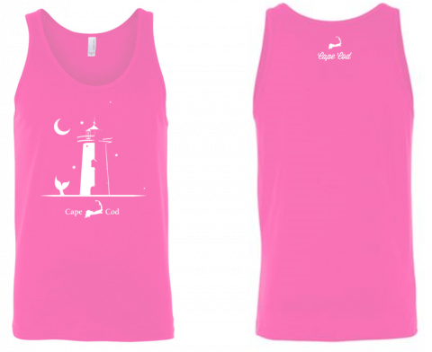 Lighthouse Tank Top - Pink