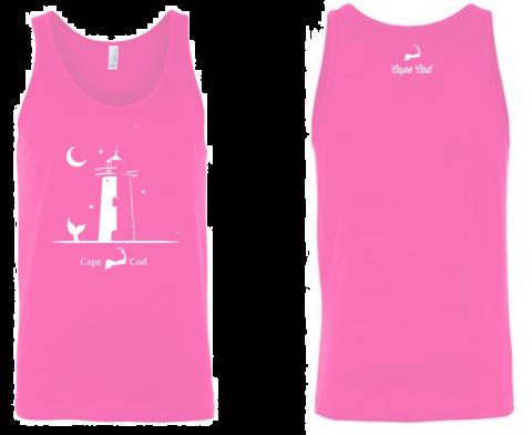 Lighthouse Tank Top - Pink