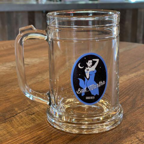 New! Bad Martha Glass Mug
