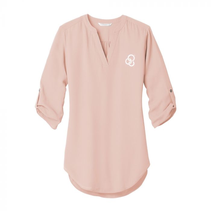 Port Authority ® Ladies 3/4-Sleeve Tunic Blouse
