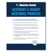 Accident & Injury Poster – Small