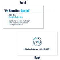 Aerial Business Cards - Fast. Safe. Reliable. Design (Box of 500)