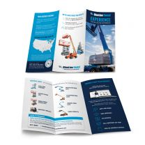 About BlueLine Trifold + Line Card - Aerial (Pack of 25)