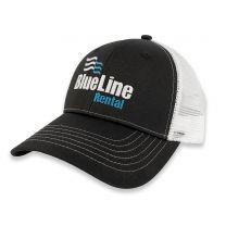 White Mesh Back Trucker Cap