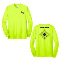 Safety Diamond Long Sleeve Hi Viz Tshirt