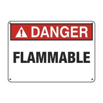 Flammable Plastic Sign