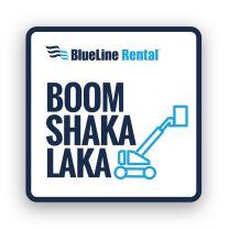 Boom Shaka Laka Hard Hat Stickers (Pack of 25)