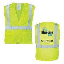 All Mesh Canadian Safety Vest