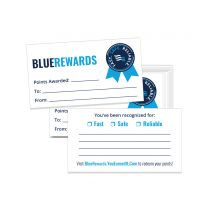 BlueRewards Card (Pack of 50)