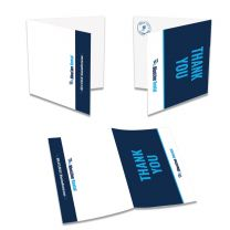 BlueLine Rental Thank You Cards (Pack of 25)