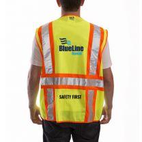 SAFETY VEST - Job Sight Class 2 Two-Tone Surveyor Vest