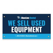 We Sell Used Equipment Banner