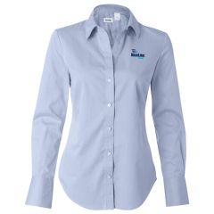 Calvin Klein Women's Pure Finish Cotton Shirt